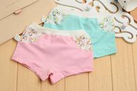 Free shipping 12pcs /lot baby Girls cartoon designs underwears children cotton short pants Kids panties cute shorts