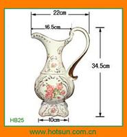 Elegant design modern porcelain water jug HB25
