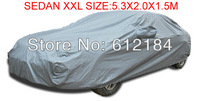 Plus Size Universal Car Cover Sedan XXL Snow SUN UV Rain Resistant Protection waterproof 5.3X2.0X1.5M Car covers