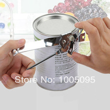 R8335 Free shipping kitchen supplies canned stainless steel can opener cavatappi cutting tool milk wine coconut milk can opener(China (Mainland))