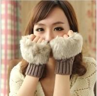 Hot-selling 2013 gloves female fashion winter semi-finger  winter gloves