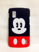 New plastic cartoon Mickey hard back case cover fit for LG Google Nexus 4 E960 protector hard shell