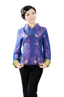 Free shipping Women's tang suit winter chinese style top embroidered outerwear mm