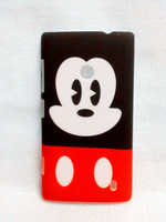 New plastic cartoon Mickey hard back case cover fit for Nokia lumia 520 N520 RM-915 protector hard shell