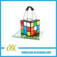 2014 GIFT Rubik cube bag,Rubik bag