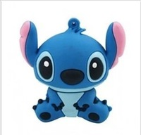Free Shipping cartoon 4GB 8GB 16GB 32GB 64GB Lilo & Stitch usb flash drive