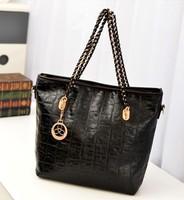 TR09 Free shipping Womens PU Leather Crossbody Shoulder Bag  Handbag Messenger Satchel Medium Casual Clutch bag ,