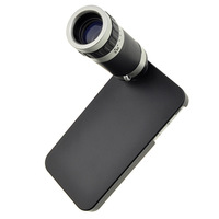 Free Shipping 8X Optical Zoom 18mm Lens Mobile Phone Telescope for iPhone 4 4S , mobile phone telescope MOQ:1 pcs