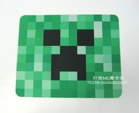 Free shipping Anime minecraft creeper big mouse pad minecraft sword keychain creeper mouse pad