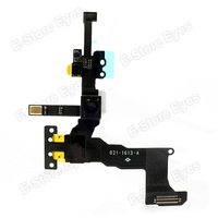 hk free shipping 10pc/tvcmall OEM for iPhone 5s Proximity Light Sensor + Front Camera Flex Cable Repair Part