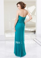 New hot sale fashion style Stretch Mesh Dress and Shrug / Evening dress /MOTHER of dress