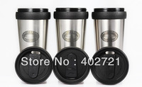 New!!! 1pc California innovations stainless steel auto cup coffee cup glass