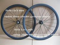 700C full carbon 38mm clincher cyclocross wheel,super light carbon bicycle parts,carbon wheel with Novatec D711SB/D712SB hub