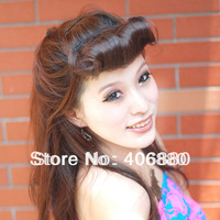 Fake Fringe Hair Extension Piece Seamless Sweet Kinkiness Bangs Hair Free Shipping Best Selling