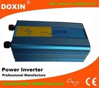 Home 3000W 12v DC to 220v AC Pure Sine Wave Power Inverter 3kw
