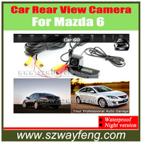Car Rear View Reverse Backup Camera for NEW MAZDA 6 Car Rear View Reversing CCD HD back up Camera for 2009 Mazda 6 Sedan , RX-8