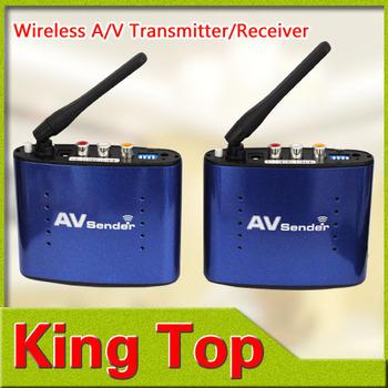 1Pcs/Lot Hotsales PAT-530 5.8G Wireless AV TV Audio Video Sender Transmitter Receiver IR Remote for IPTV DVD STB DVR