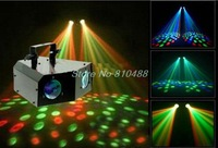 Free shipping DHL FEDX Sound Control   led stage lights DMX512 LED Double Moon Flower Stage effect light effect light disco ball