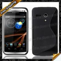 For Moto G DVX S type case, New High quality S line Soft TPU Gel Skin Case Cover For Motorola Moto G DVX XT1032 Free Shipping