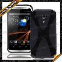 For Moto G X XT1032 design tpu, New High quality X line Soft TPU Gel Case For Motorola Moto G DVX XT1032 Free Shipping
