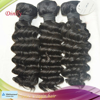 unprocessed cheap malaysian deep wave hair 4pcs/lot mixed 1b color no shedding tangle free dhl free shipping fast delivery