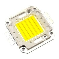[1pcs/lot] LED chip  White/Warm white Flood Light 50W 5000LM Led Chip Lamp Beads Emitter Lighting Emitting Free Shipping