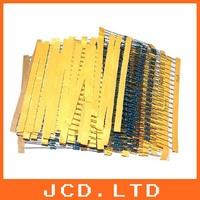 41 Values Kinds each 40pcs Metal Film Resistor Resistance Assorted Assortment Kit 1/4W