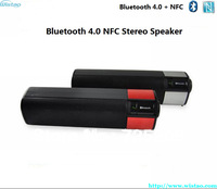 Free Shipping Bluetooth4.0 NFC Stereo Speaker CSR4.0 Instantly Pairing Connection with NFC-enabled Smart Phones Support APT-X