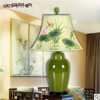T8 Chinese porcelain lamp bedroom bedside cabinet lighting ideas living room table lamp 3093