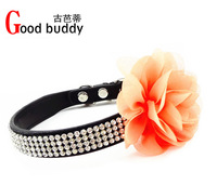 Best for your pets/christmas gift pet collars/crystals dog collar/newest styles/pet products in good buddy DHL free shipping