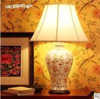 T8 Chinese porcelain lamp bedroom bedside lighting lamps living room sets 3087