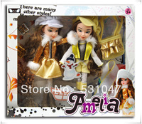 2013 Newest fashion doll for girls the Princess doll 2 piece with accessories packaged in diaplay box for best Christmas gift
