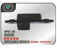 "Backup Camera Wired CCD 1/3"" car parking camera for VW Skoda Octavia Effective Pixels:728*582 night vision waterproof"