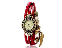 WOMAGE 630 Women's Fashionable Analog Leaf Watch 5pcs/lot