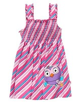 Free shipping children kids girls Giggle & Hoot Diagonal Stripe Dress  8 pcs/lot