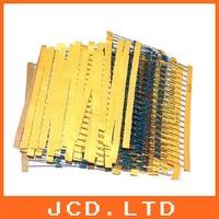 1/4 Watt Metal Film Resistor KIT  1%  1/4  30 VALUES Common Resistance each 100pcs