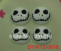 STOCK!  30pcs Halloween Wry Face Resin Cabochon Flatbacks Flat Back For Hair Phone Home Decoration Making Crafts DIY