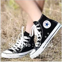 Free Shipping Unisex 12 Colors Women Low High Style Women Canvas Shoes Lace Up Casual Breathable Sneakers for women,Board Shoes