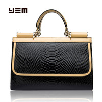 Yem fashion 2013 women's serpentine pattern handbag fashion elegant handbag casual women's cross-body bag