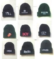 2014 hot sale rushed adult hats hats for toca free shipping korean skully mens winter knitting hat gd bigbang hip-hop 12pcs/lot
