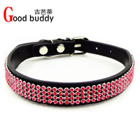 Good buddy newest designs shine crystal dog collar and leashes/products/diamond pet items/dog tags/dog products