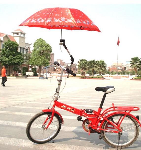 [해외]2012 NEW  Stainless Steel Bicycle Bike umbrella sta..