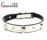 Good buddy new designs crystals&skulls dog collar and leash/pet items/cat products/skulls cat products