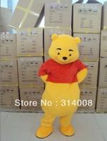 winnie Cartoon Character Costume cosplay mascot Custom Products custom-made(s.m.l.xl.xxl) free shipping