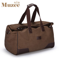 New Arrival Large capacity canvas one shoulder handbag, multi-functional travelling bag big canvas folding luggage bag
