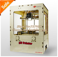 free shipping cheap desktop 3D printer single extruder with full set 3D printing machine kit