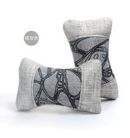 Car headrest pillow car neck pillow car lumbar support cushion kaozhen cartoon pillow auto supplies bone pillow