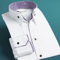 Deep sea deepocean shirt male long-sleeve V-neck 100% men's cotton fashion clothing
