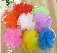 2012 NEW ! FREE SHIPPING Bath ball for Bath flower & Color send by random