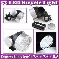 2 pcs/lot_Super Bright 53 LED Bike Bicycle Light